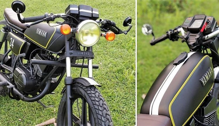 Meet Custom Made Yamaha Rx100 Cafe Racer Edition Yamaha Rx100