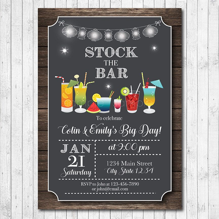 pin by holly mcdonald on stock the bar party in 2019