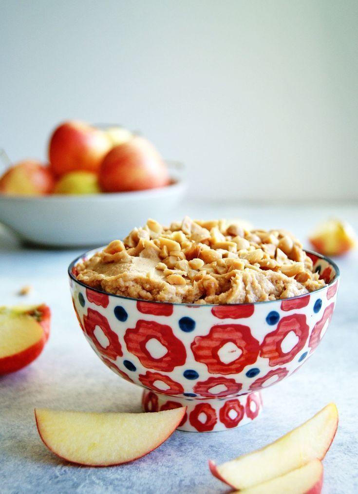 Creamy Peanut Butter Apple Dip Recipe Creamy peanut
