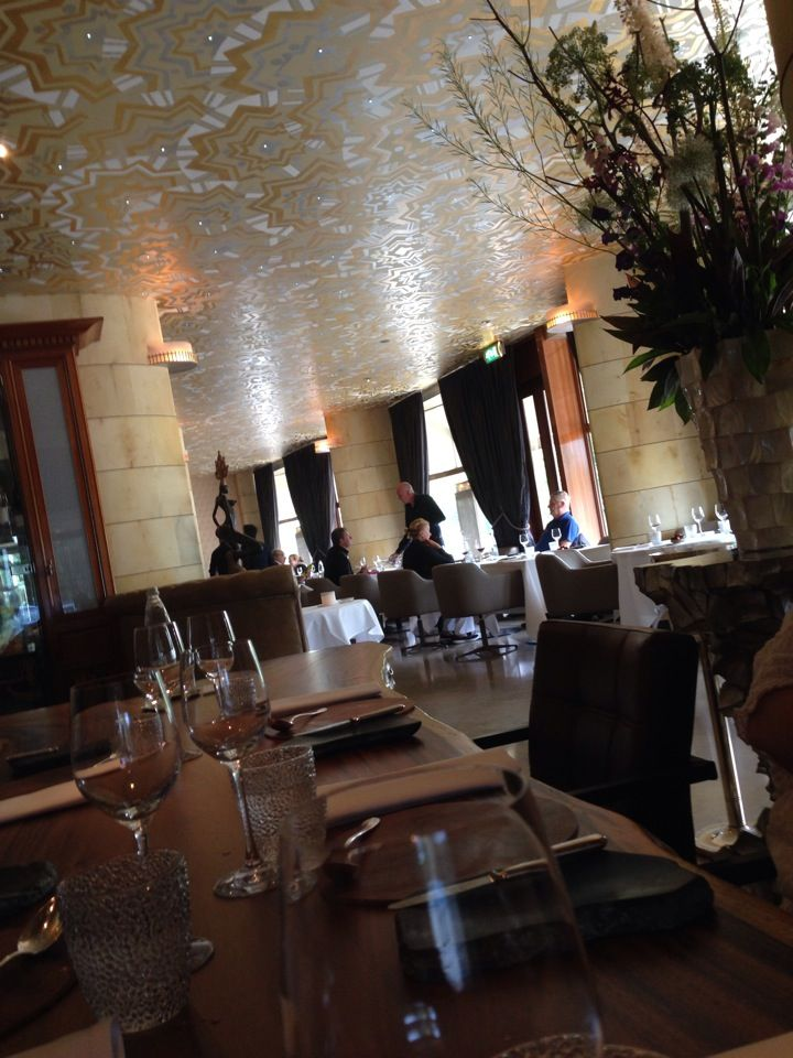 Fine dining. One of the better Michelin starred restaurants in Rotterdam. Restaurant Fred in Rotterdam, Zuid-Holland