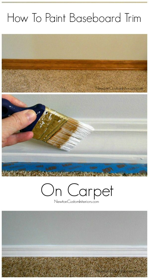 How To Paint Baseboard Trim On Carpet Newton Custom Interiors Painting Baseboards Painting Trim Baseboard Trim