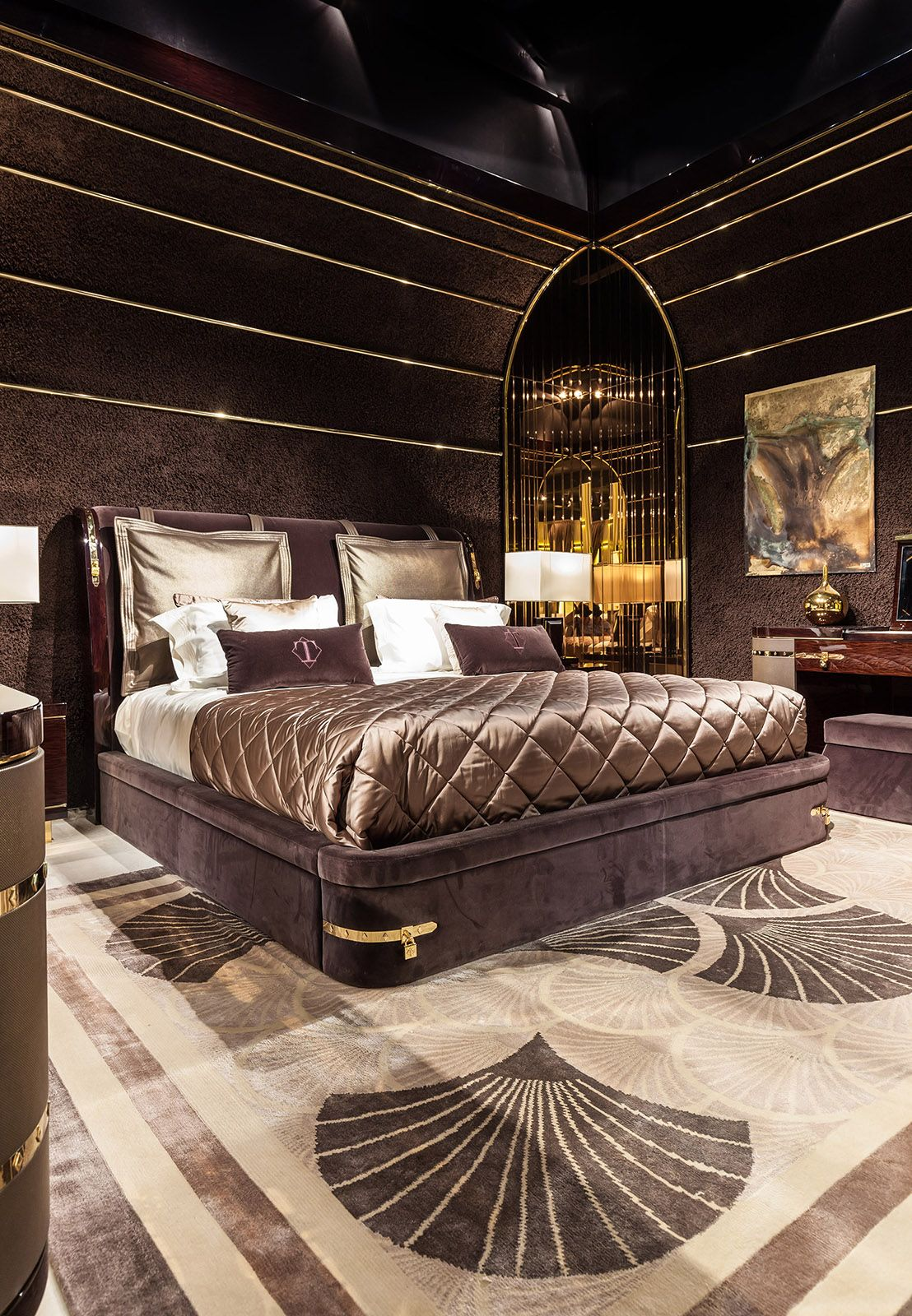 Italian bedroom decor - Diamond Bedroom Www Turri It Italian Luxury Bedroom