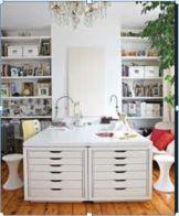 2 Ikea Alex 6 drawer units - put on edge of desk |