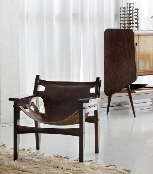 Beautiful 10 Easy Pieces: South American Style Leather Chairs   Remodelista