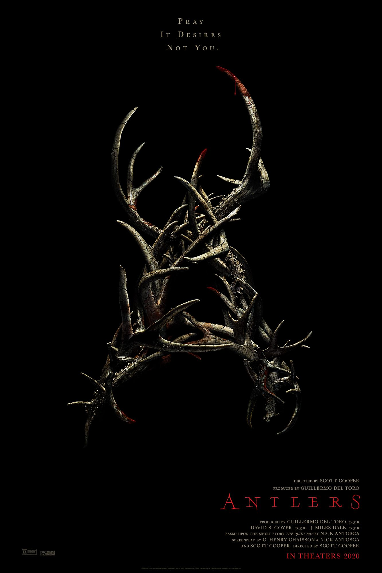 Antlers (2020) Trailer Release Date Cast Review Story FK