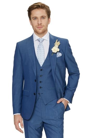 5ecf52430 Ted Baker Faded Blue For the Groomsmen!  WedWithTed  mossbros  tedbaker