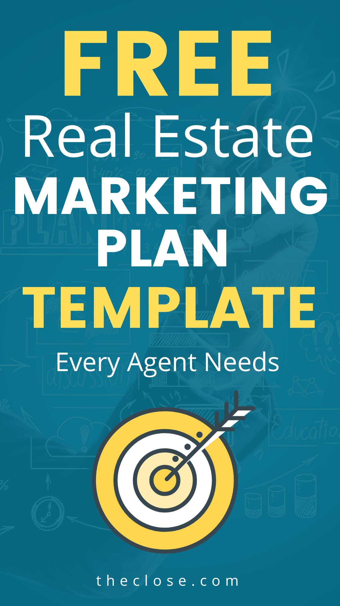 Free Real Estate Marketing Plan Template