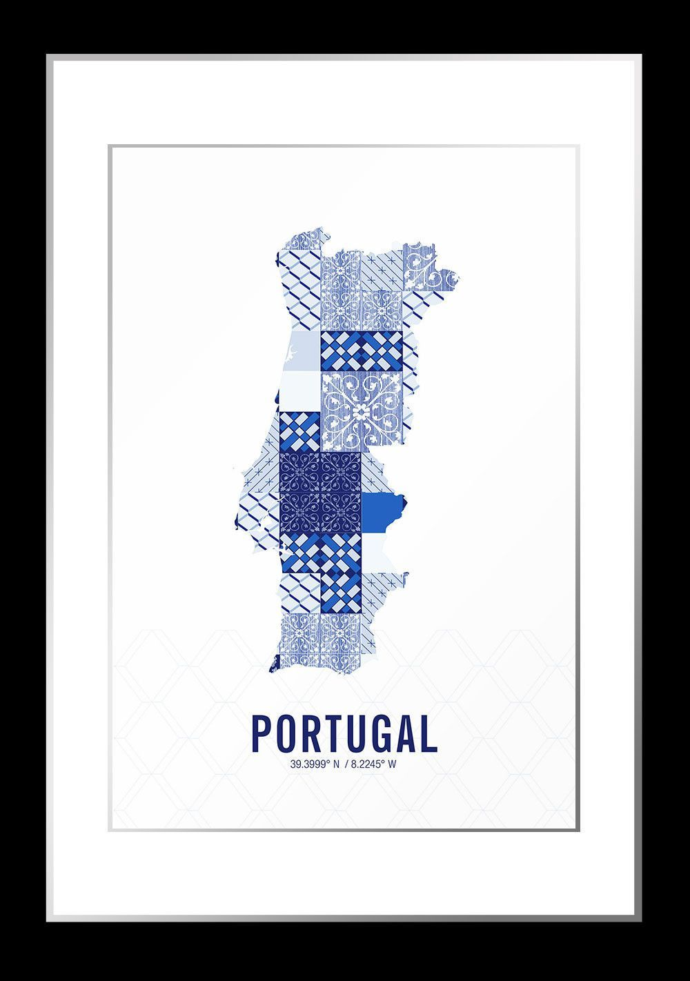 Portugal Map Print Products Portugal And Maps - Portugal map to print