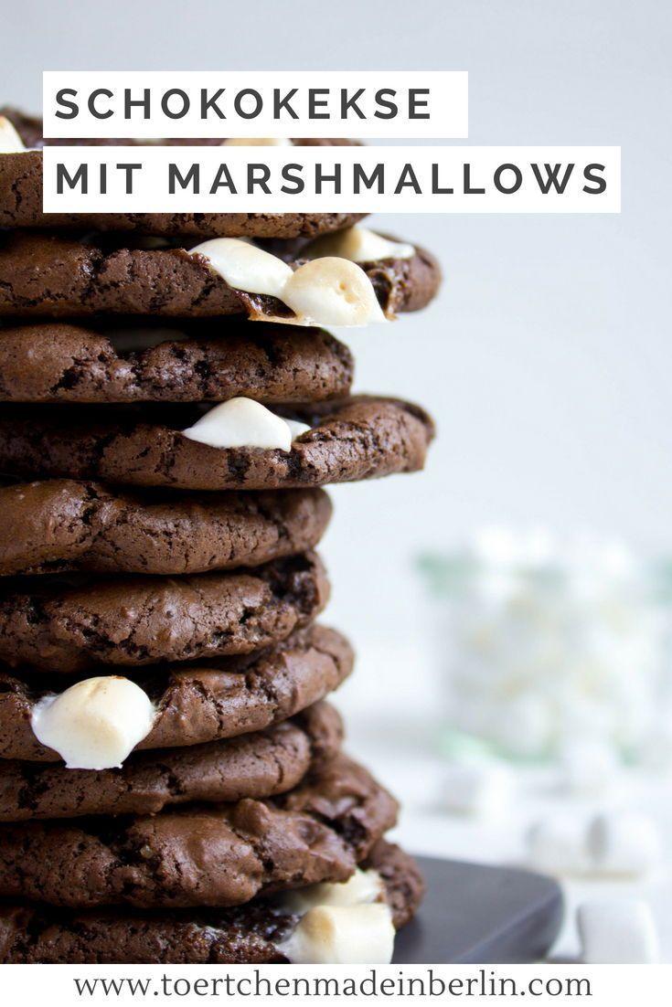Schokoladenkekse mit Marshmallows - Törtchen - Made in Berlin