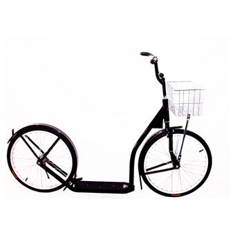 just scored this Amish handcrafted scooter to park at my office & roll around town