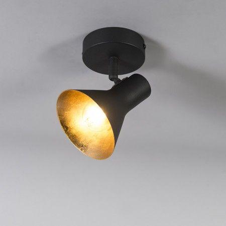 Moderne Spot Zwart 1 Lichts Magno Lamp Ceiling Lights Light