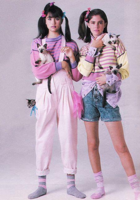 la mode des années 80