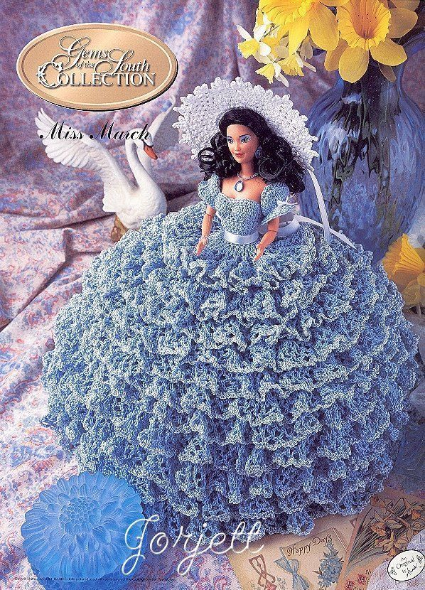 Collectioncrochet March Annies Gems Of The South Collection