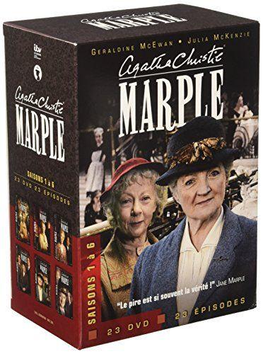 Agatha Christie Marple L Integrale Saisons 1 A 6 Agatha Christie Agatha Dvd