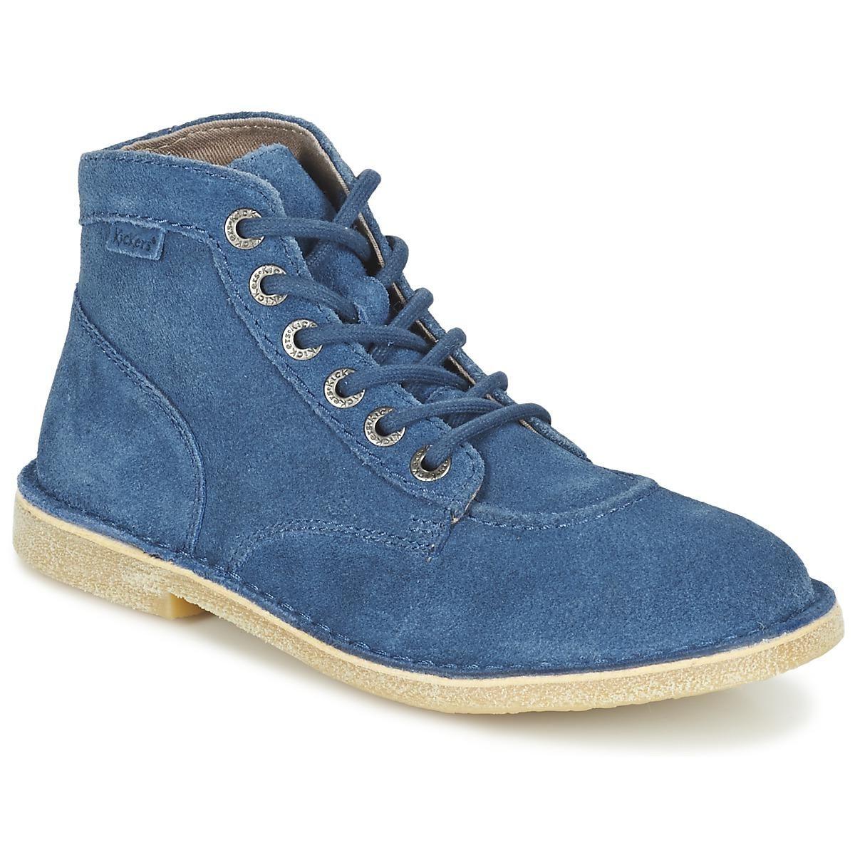 Kickers ORILEGEND - Boots à talons noir u8I8tM