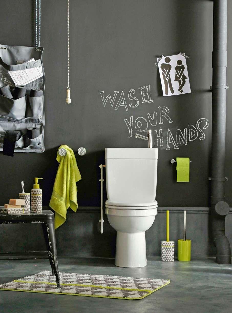 Quelle couleur pour repeindre les toilettes en 2019 - Repeindre salle de bain quelle couleur ...