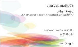 Trouver Des Cours Particuliers Annonces Prospectus Tracts Cartes De Visite