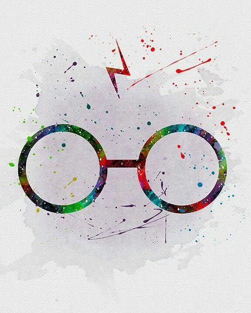 Harry Potter Wallpaper We Heart It: Imagen De Harry Potter And Glasses