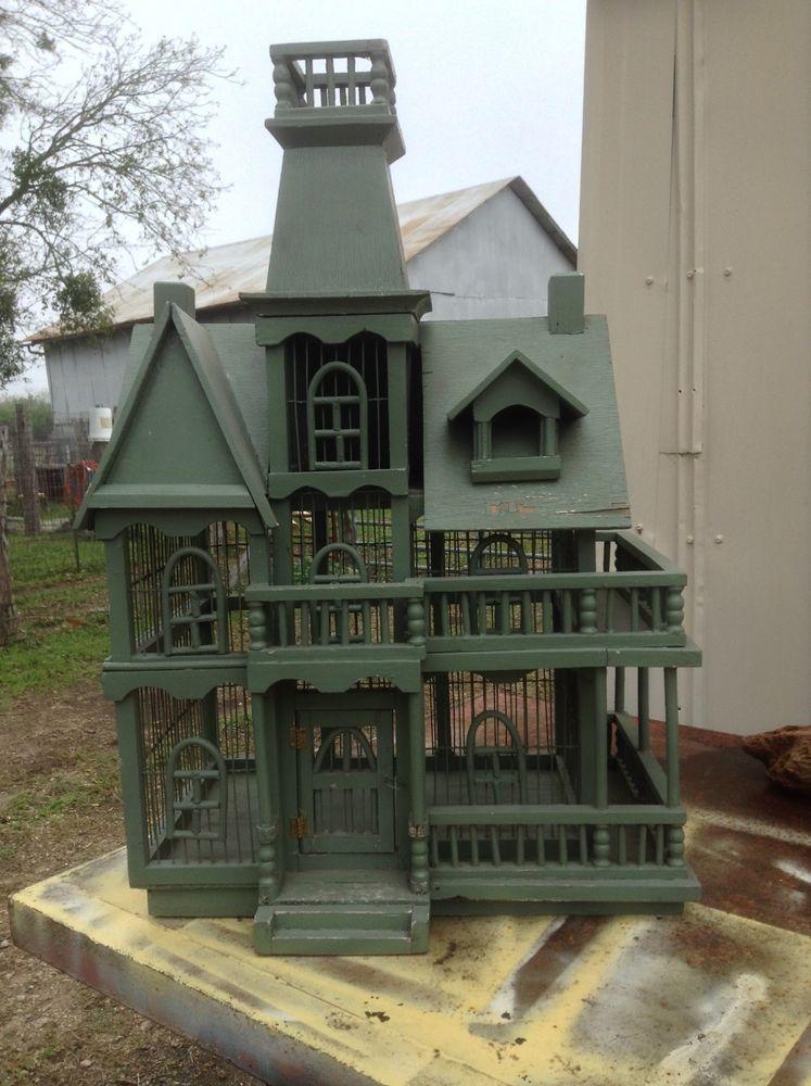 Oriental style bird houses