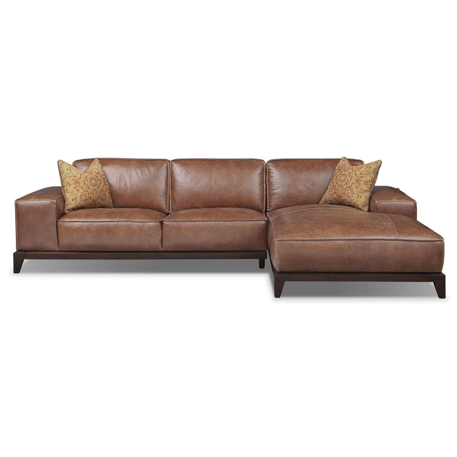 Harrison 2 Pc. Sectional | American Signature Furniture  sc 1 st  Pinterest : american signature sectional - Sectionals, Sofas & Couches