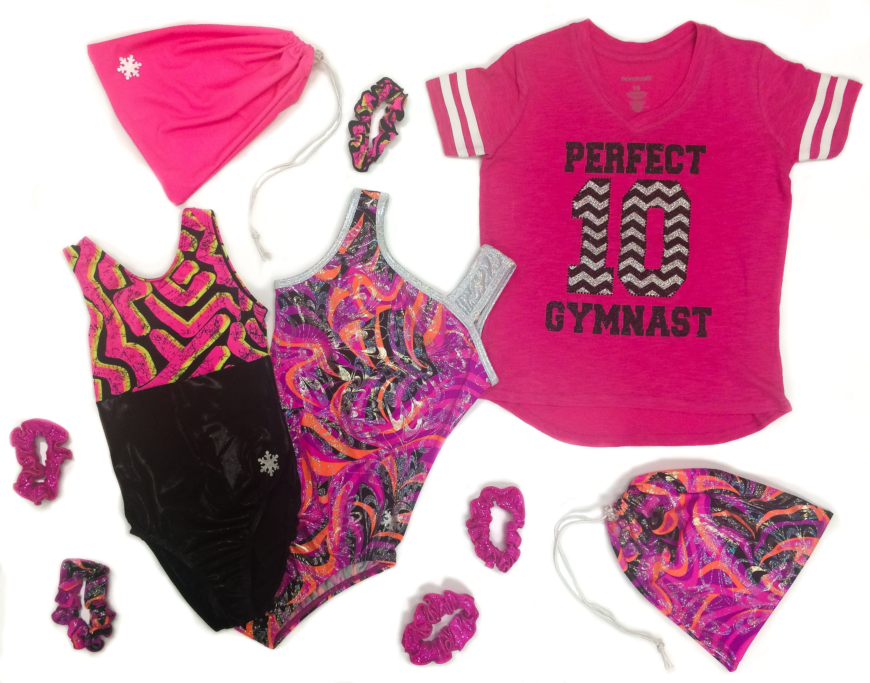 Love pink? We do too! That's why we put together this perfectly pink outfit for you Perfect 10 gymnast. Click to shop the look!