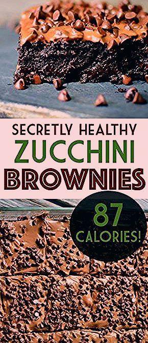 Photo of Secretly Healthy 87 Calorie Brownies!