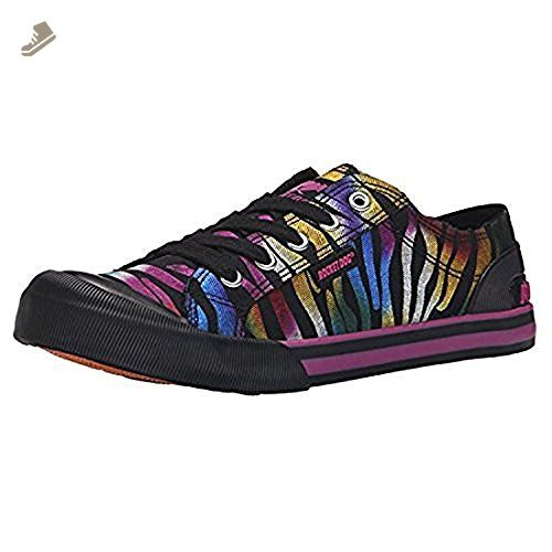 Rocket Dog Womens Jazzin Prismatic Cotton Fashion Sneaker Black 65 M US >>>  Find out more about the great product at the image link.