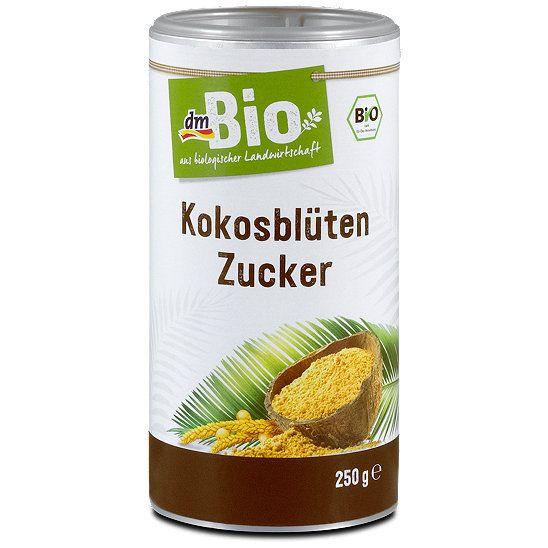 dmBio Kokosblüten Zucker, Zucker & Zuckerersatzstoffe im dm Online Shop…