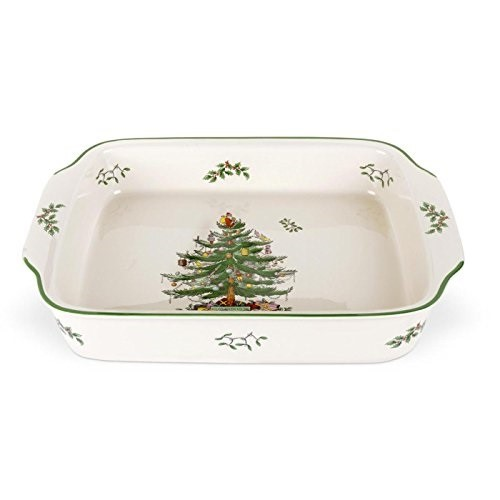 Spode Christmas Tree Rectangular Handled Dish Products in 2018