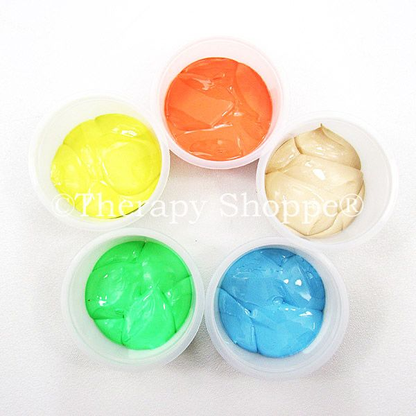 5 x Therapy Putty 5 Strengths Sensory Tactile Special Needs Toy