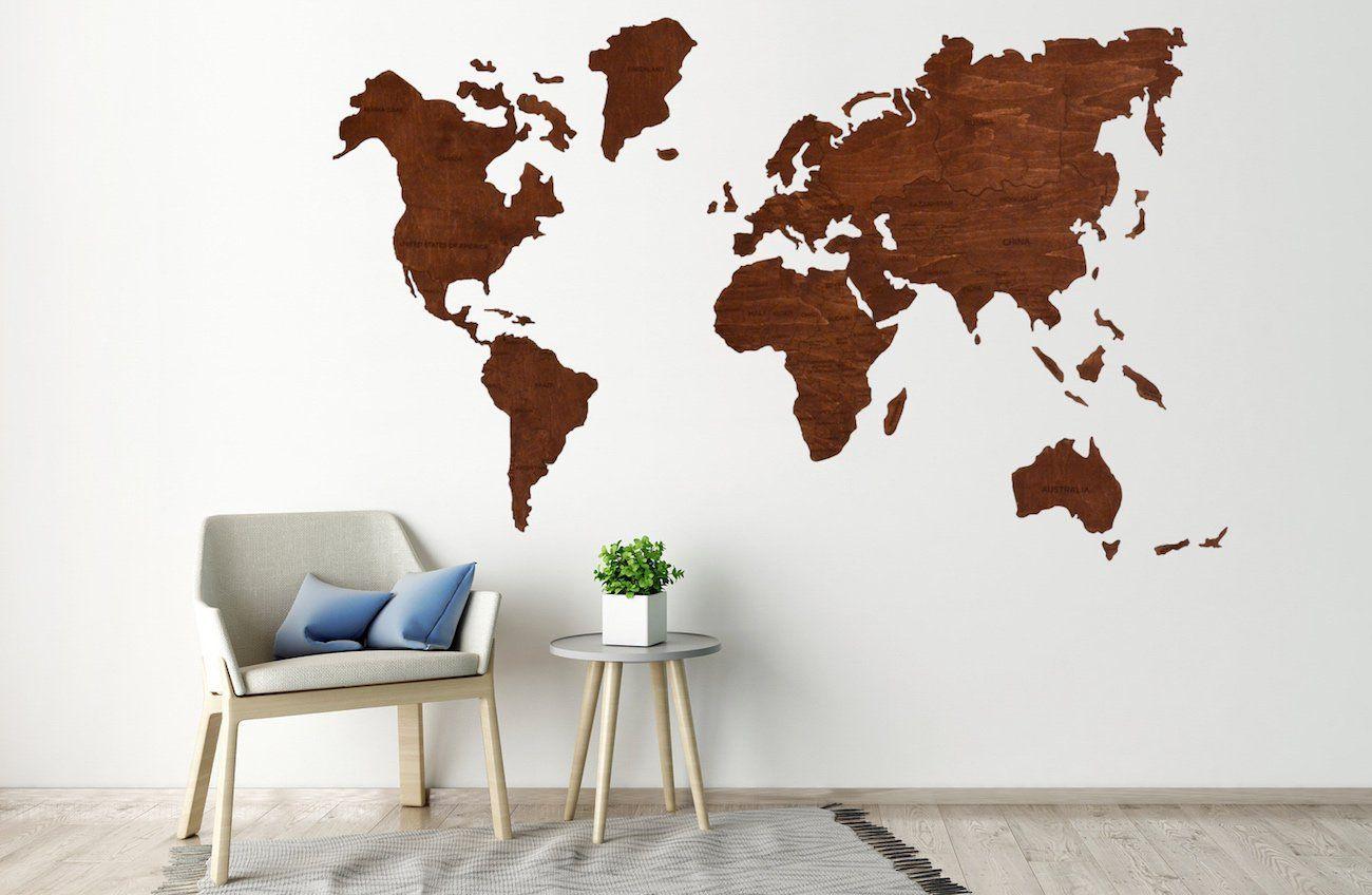 Enjoy the wood travel wooden world map wood world map