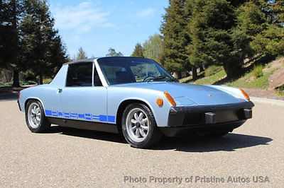 Ebay Porsche 914 Rare 1 7 Litre In Marathon Blue Recently Classiccars Cars Usdeals Rssdata