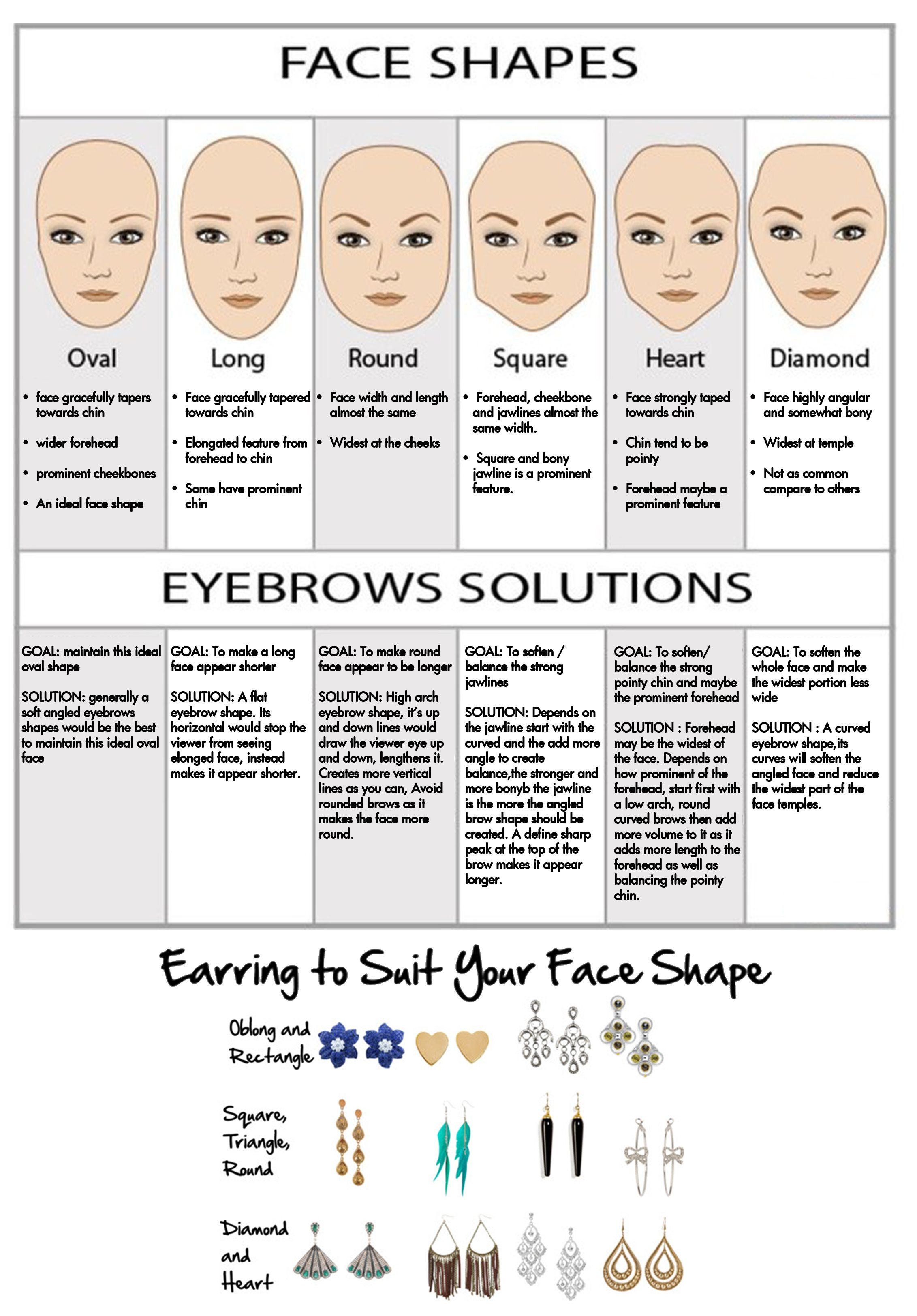 Solutions Eyebrows Earrings Sun And Fashion Glasses