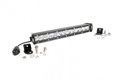 12 Inch Cree Led Light Bar Single Row Chrome Series Cree Led Light Bar Led Light Bars Bar Lighting
