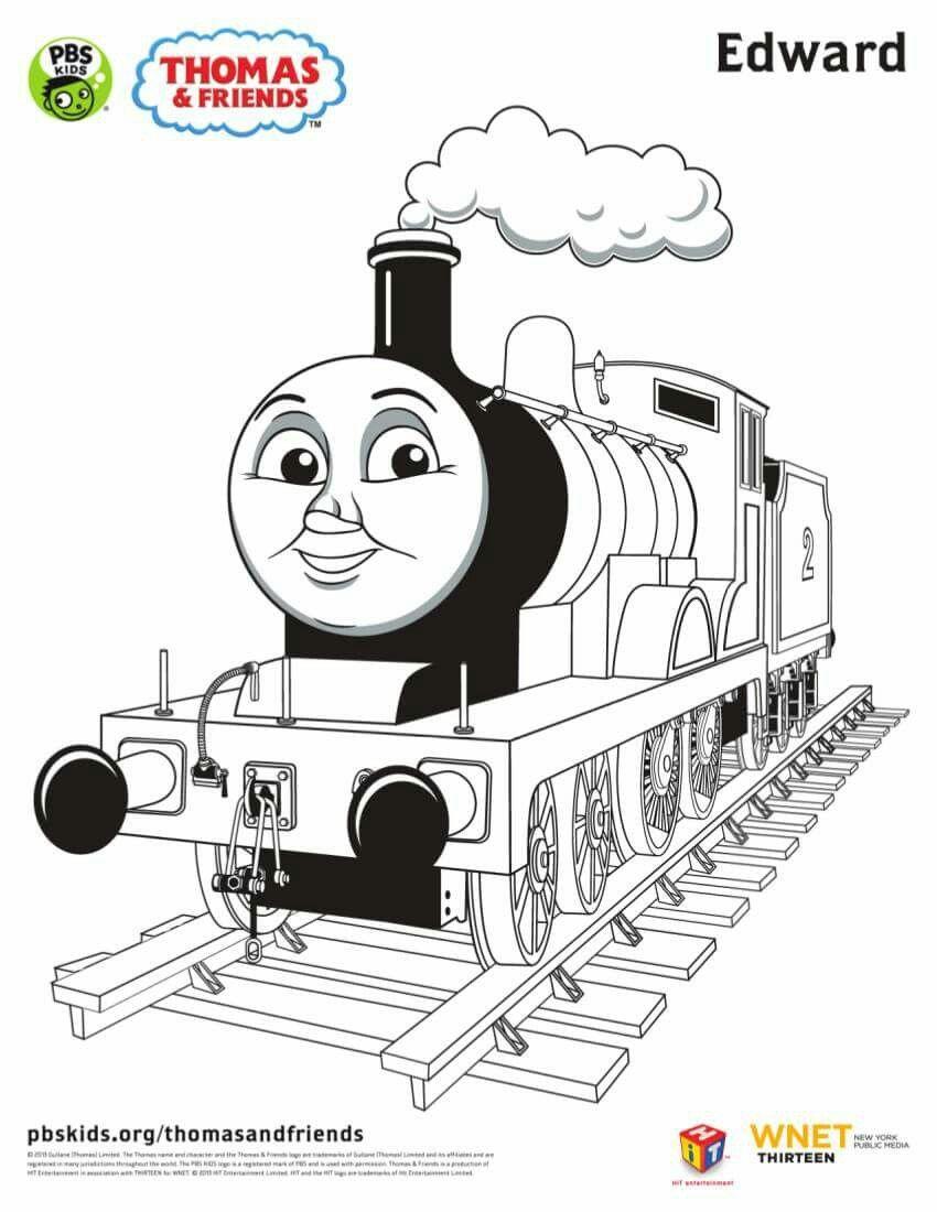 Dorable Thomas El Motor De Tanque Para Colorear Percy Patrón ...