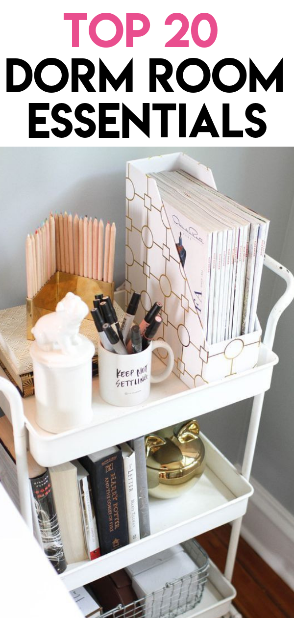 Dorm Room Essentials for 2019 #organizingdormrooms
