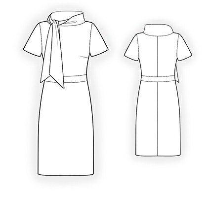 4315 PDF Kleid nähen Muster Frauk personalisierte von TipTopFit