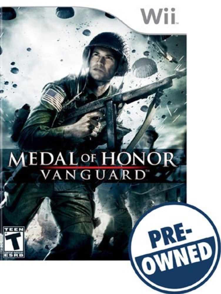 Medal Of Honor Vanguard â Pre Owned Nintendo Wii 15288