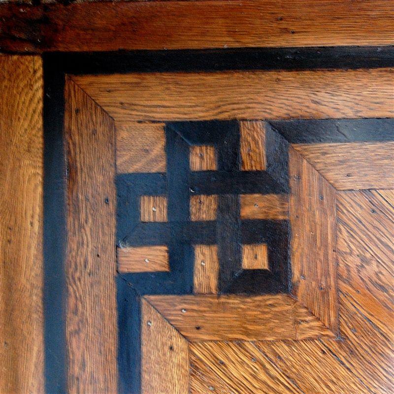 Wood Floor Inlay Patterns Design