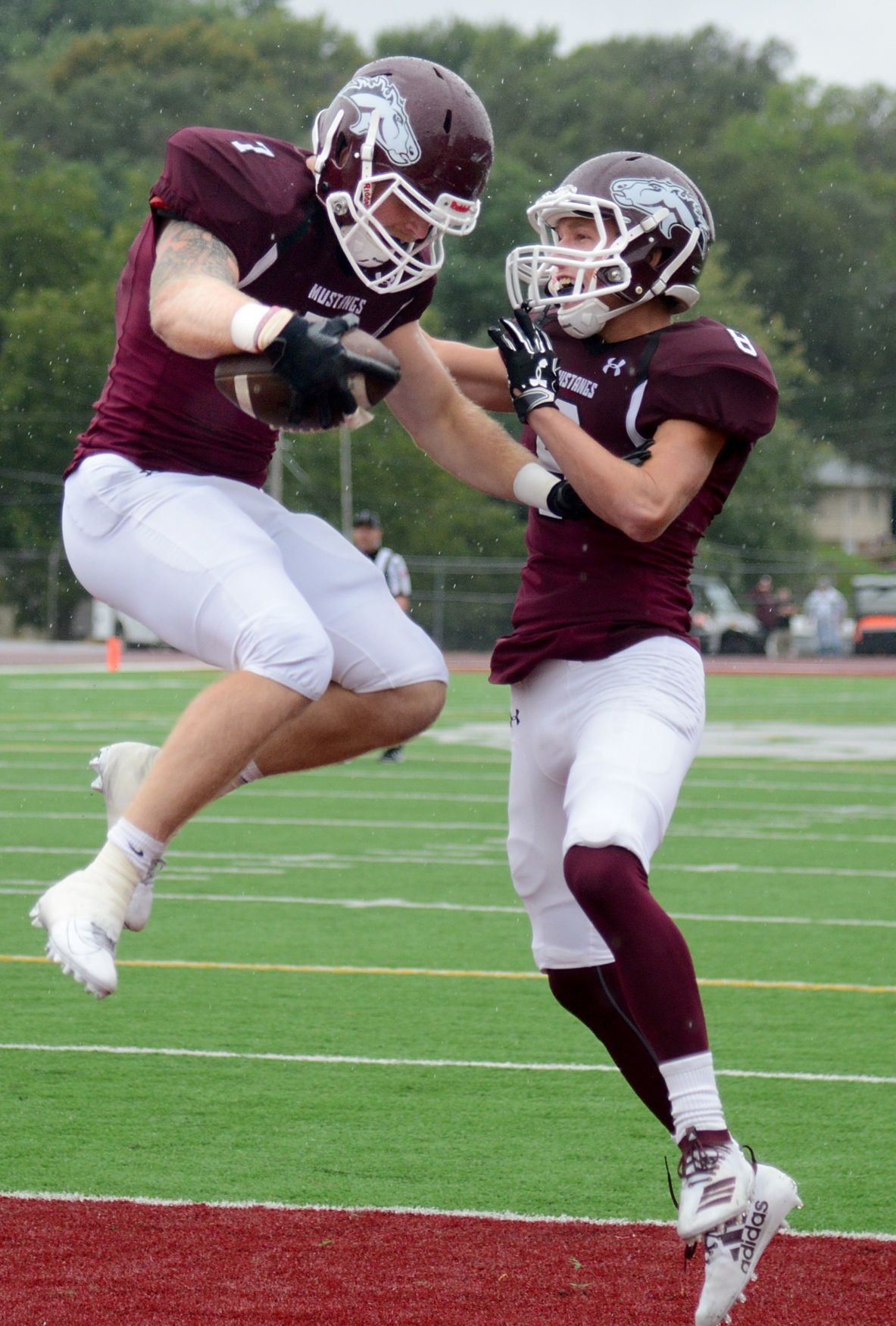 Morningside football starts season with 80 0 win over st