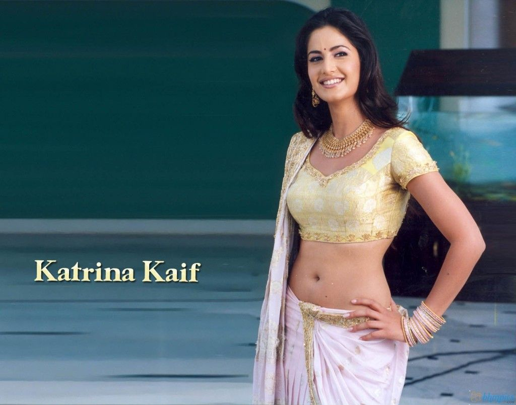 Katrina kaif hot navel kiss