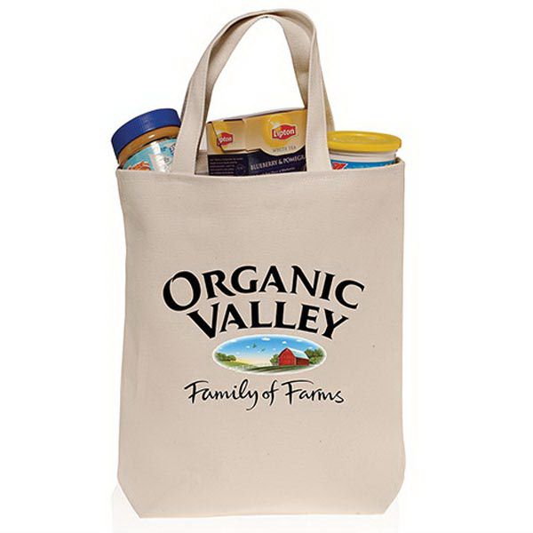 Cotton Canvas Tote Bag | Cotton Tote Bags in Natural or Colored ...