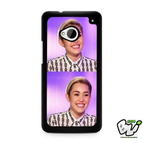 Smile Miley Cyrus HTC G21,HTC ONE X,HTC ONE S,HTC M7,M8,M8 Mini,M9,M9 Plus,HTC Desire Case