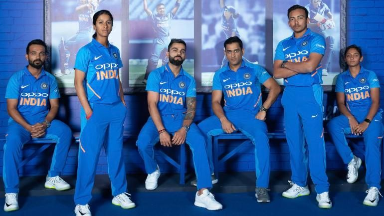 Indian National Cricket Team Cricket Teams World Cup Jerseys World Cup