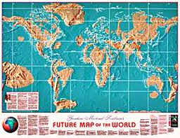Resultado de imagen para the future map of north america ... on fallout maps for north america, map of science fiction, map with legend scale, map of london blitz, map of modern africa, map of earth,