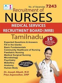 Tamil #Nadu TN Staff #Nurse #Exam #Study Material #Book