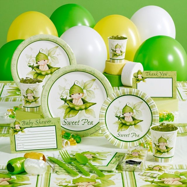 Pea Pods Shower Theme Sweet Pea Baby Shower Theme 2