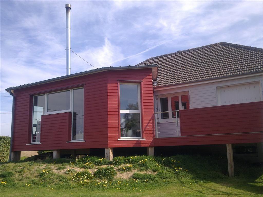 agrandissement bois terrasse maisons pinterest extensions