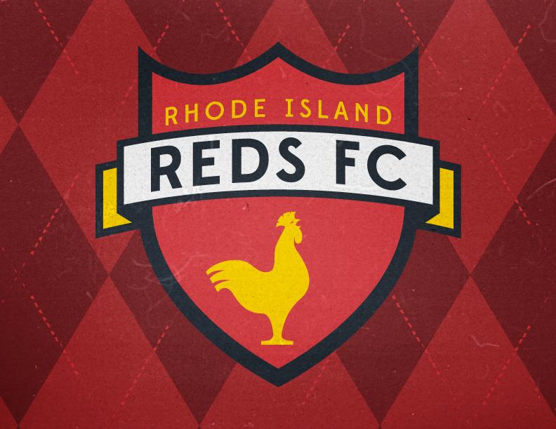 Rhode Island Reds FC Soccer Crest Concept