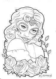 zuckerschädel - tattoos - tattoos zuckerschädel   zuckerschädel, malvorlagen für mädchen und